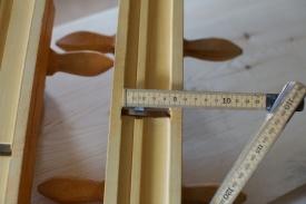 Golvplogane er som regel laga som eit par som passar saman der det er faste mål. Stillbare slike er ikkje så vanleg. Foto: Roald Renmælmo