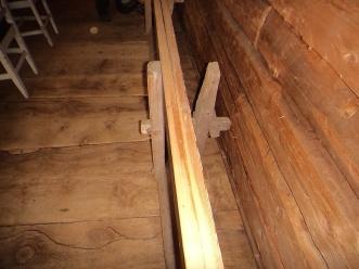 Skottbenken sett ovenfra. Foto: Jørn Ulven