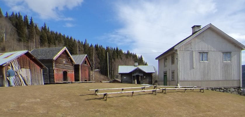Garden Ulsrud i Vestre Gausdal er i dag eigd av Gausdal historielag. Foto: Jørn Ulven