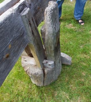 Langbordet med drevspona. Foto: Roald Renmælmo