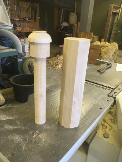 Skruene under produksjon
